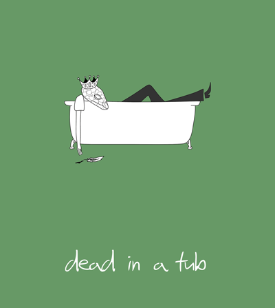 Dead in a tub